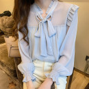 Lace / Chiffon Spring 2021 Graph color S,M,L,XL,2XL Long sleeves commute Socket Three piece set easy Regular other other other 18-24 years old H Korean version 31% (inclusive) - 50% (inclusive)