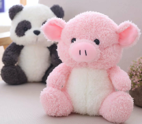 Plush cloth toys 3, 4, 5, 6, 7, 8, 9, 10, 11, 12, 13, 14, 14 and above Plush Doll PP cotton Pig pig domestic
