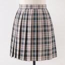 skirt Summer 2020 S,M,L,XL Jingque 43cm skirt, jingque 48CM skirt Short skirt Sweet High waist Pleated skirt lattice 18-24 years old J-035 71% (inclusive) - 80% (inclusive) cotton solar system