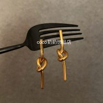 Ear Studs Alloy / silver / gold 30-39.99 yuan Other / other golden