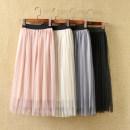 skirt 90cm,100cm,110cm,120cm,130cm,140cm,150cm Other / other female Other 100% No season skirt Pleats