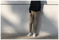 Casual pants Others Youth fashion khaki M,L,XL,2XL trousers Other leisure easy like a breath of fresh air