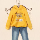 Sweater / sweater You baobao female 100cm,110cm,120cm,130cm,140cm,150cm,160cm,170cm spring and autumn No detachable cap Korean version Socket Plush No model cotton Cartoon animation Cotton 100% Class B Intradermal bile duct