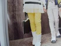 trousers female 100cm,110cm,120cm,130cm,140cm,150cm,160cm spring and autumn trousers Korean version No model Leggings Leather belt middle-waisted Pure cotton (100% content) Don't open the crotch Four, five, six, seven, eight, nine, ten, eleven, twelve