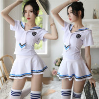 Fun suit Other / other polyester fiber Sexy student dress, sexy student dress + white student socks Sailor suit Tight coating style Sailor suit other S [suitable for 80-95 Jin], m [suitable for 95-115 Jin], l [suitable for 115-125 Jin]