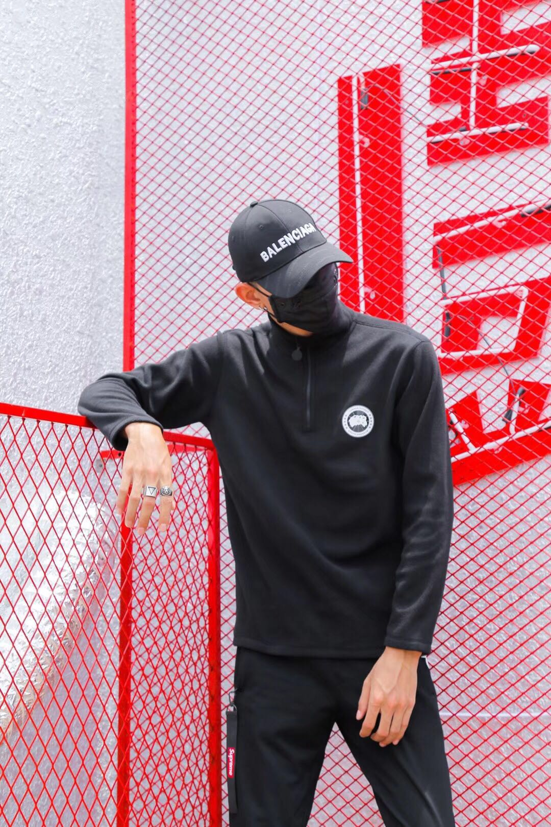 T-shirt fashion City Canada Goose conventional M L XL 2XL 3XL grey black standard daily Long sleeve winter Round neck Eight hundred and twenty-two conventional