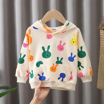 Sweater / sweater Other / other female 80, 90, 100, 110, 120 spring and autumn No detachable cap Korean version Socket routine No model cotton other Cotton 90% polyurethane elastic fiber (spandex) 10%