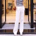 Casual pants White, black, green, red XS - 1, s - 2, M - 3, L - 4, XL - 5 Spring 2021 trousers Versatile Thin money 96% and above Amash hemp pocket hemp