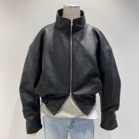 leather clothing Others Youth fashion black M, L have cash less than that is registered in the accounts Imitation leather clothes autumn