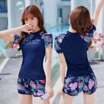 Bikini Other brands Black, Navy, 028264 pink, 028264 lake blue, 028279 pink, 028279 lake blue, 028248 ink blue, 028248 tuhaojin M [80-95 Jin], l [95-105 Jin], XL [105-120 Jin] boxer With chest pad without steel support other