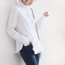 Sport polo Auden White Navy female S M L XL Spring 2021 Long sleeves routine Pure e-commerce (online only)