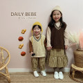 Vest neutral DAILY BEBE spring and autumn routine There are models in the real shooting Socket leisure time blending stripe Cotton 100% Class B other Intradermal bile duct 18 months, 2 years old, 3 years old, 4 years old, 5 years old, 6 years old, 7 years old