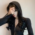 Dress Autumn 2020 Gray, black Average size Short skirt singleton  Long sleeves commute High waist zipper 18-24 years old Korean version
