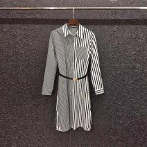 Dress Spring 2021 black S,M,L,XL Mibilan 30% and below other