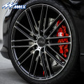 hub Hongtian aluminium alloy M1609 Pre paid chameleon titanium gray 18 inches 19 inches 20 inches Low pressure casting Automobile modified parts Sport style modification 5x1155x114.35x1085x1125x1205x130 8.5J9.0J9.5J10.0J 63.4mm66.5mm70.3mm71.6mm72.6mm73.1mm Support installation