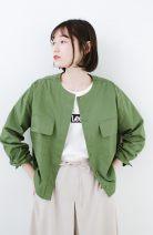 short coat Spring of 2019 S,M,L,XL green