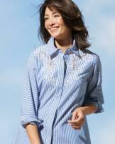 shirt Stripe 421, dark blue 490 S (7), m (9), l (11), XL (13), XXL (15) cotton 51% (inclusive) - 70% (inclusive)
