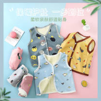Vest neutral spring and autumn thickening No model Single breasted Cotton blended fabric Cartoon animation Class A other 3 months, 6 months, 12 months, 9 months, 18 months, 2 years old, 3 years old, 4 years old, 5 years old, 6 years old