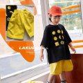 trousers Lackey neutral 5(100cm),7(110cm),9(120cm),11(130cm),13(140cm),15(150cm),17(155cm),19(160cm) Yellow shorts shorts Casual pants