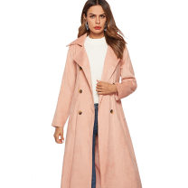 Windbreaker Winter of 2018 S,M,L,XL Pink Long sleeves thickening have more cash than can be accounted for street Frenulum other Solid color Self cultivation Other / other 71% (inclusive) - 80% (inclusive) polyester fiber