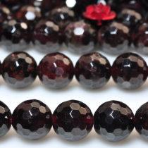 Other DIY accessories Loose beads Natural crystal / semi precious stone 10-19.99 yuan Dimensions_ 8mm; 47 capsules per batch brand new Garnet