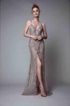 Dress / evening wear Ежедневная встреча с ребятами Нестандартный размер Пользовательский цвет Цвет изображения Весна 2017 Длинная юбка рыбий хвост Чистая пряжа