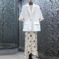 Fashion suit Summer 2021 S,M,L White, black 25-35 years old 96% and above cotton