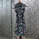Dress Summer 2021 Picture color S,M,L Mid length dress singleton  Sleeveless street middle-waisted Decor other 25-29 years old More than 95% cotton Europe and America