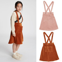 skirt 130 for height 120-126cm, 120 for height 110-116cm, 100 for height 90-96cm, 110 for height 100-106cm Lotus root powder (100 cotton), caramel (70 cotton, 25 polyester, 5 spandex) Other / other female Cotton 100%