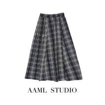 skirt Winter of 2019 S,M,L High quality fabric for plaid skirt and black base coat