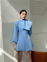 Dress Spring 2021 Sky blue XS,S,M,L singleton  street 18-24 years old 31% (inclusive) - 50% (inclusive) Europe and America