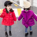 Cotton padded jacket female No detachable cap Cotton 96% and above Other / other Red smiley face, purple smiley face, Pink Smiley Face It is suggested that the baby's height should be 70-75cm for No. 90, 80-85cm for No. 100, 90-95cm for No. 110, 100-105cm for No. 120 and within 110-115cm for No. 130