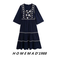 Dress Spring 2021 XS,S,M,L Mid length dress singleton  Short sleeve street Crew neck Loose waist Socket other 71% (inclusive) - 80% (inclusive) cotton Europe and America