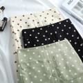 skirt Summer 2020 M [2 feet / 27], l [2 feet 1 / 28], XL [2 feet 2 / 29], 2XL [2 feet 3 / 30], 3XL [2 feet 4 / 31], 4XL [2 feet 5 / 32] Off white, black, green Mid length dress Versatile High waist skirt Dot Type H 200616H358020