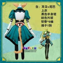 Cosplay women's wear jacket goods in stock Over 14 years old Clothing + wig, wig + hair net, clothing (ear + tail + socks) comic L, M