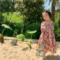 Dress Floral dress, the second batch of floral dress female No.7 Tong Cang 80cm, 90cm, 100cm, 120cm, 130cm, 140cm, 150cm, 110cm (model size)) Other 100% summer other Short sleeve other other SKD2129 Five, six, seven, eight, nine, ten, eleven, twelve