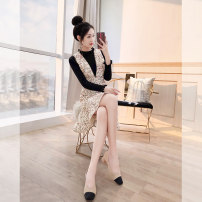 Fashion suit Winter 2021 S,M,L,XL Apricot 25-35 years old Justvivi style