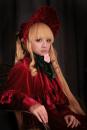 Cosplay women's wear Other women's wear goods in stock claret Fruit meow Rose girl