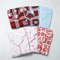 Nightdress Other / other White heart-shaped, white grid, milky red, blue floret, red grid, white floret 160(M),165(L),170(XL),175(XXL) Sweet Long sleeves longuette autumn Small lapel cotton printing More than 95% Woven cotton fabric