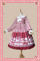 Lolita / soft girl / dress infanta  S,M,L Summer, spring and Autumn Classic, Lolita, sweet