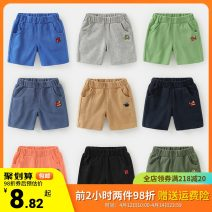 trousers Righteuro male 90CM,100CM,110CM,120CM,130CM summer shorts leisure time No model Sports pants Leather belt middle-waisted Pure cotton (100% content) Don't open the crotch Cotton 100% U12668 2, 3, 4, 5, 6, 7, 18 months
