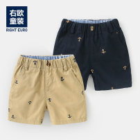 trousers Righteuro male 90CM,95CM,100CM,110CM,120CM,130CM Khaki, Navy, style 1, style 2, style 3 summer shorts leisure time No model Casual pants Leather belt middle-waisted Cotton blended fabric Open crotch Other 100% U11776 2, 3, 4, 5, 6, 7, 18 months
