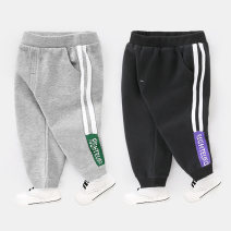 trousers Righteuro male 90cm,95cm,100cm,110cm,120cm,130cm spring and autumn trousers leisure time No model Sports pants Leather belt middle-waisted Cotton blended fabric Don't open the crotch Cotton 100%