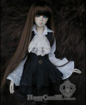 BJD doll zone suit 1/3 Over 14 years old goods in stock Black and white It's for 1 / 3 girls, 1 / 4 girls, big girls