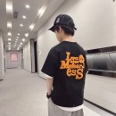 T-shirt Black, black reservation Other / other 120cm / 120, 130cm / 130, 140cm / 140, 150cm / 150, 160cm / 160, 170cm / 170 male summer Short sleeve Crew neck Korean version There are models in the real shooting nothing cotton letter Cotton 90% other 10% -- 12, 11, 10, 9, 8, 7, 5, 6, 4, 3
