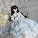 BJD doll zone Dress 1/4 Over 14 years old goods in stock White, army green, pink, light blue, bluebell, blue, bluebell, purple, pink rabbit