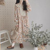 Dress Spring 2021 Fragmentary flower series Average size
