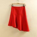 skirt Winter of 2019 XS(155/62A),S(160/66A),M(165/70A),L(170/74A),XL(175/78A) Black, reddish brown, bright red Mitt