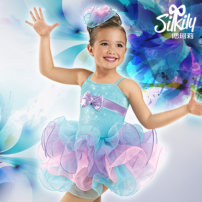 Children's performance clothes Sky blue (one piece open crotch) female 110, 120, 130, 140, 150, 100 Silkily Class B Latin Cotton 95% polyurethane elastic fiber (spandex) 5% Pure cotton (100% content) 2, 3, 4, 5, 6, 7, 8, 9, 10, 11, 12, 13, 14 years old