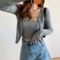 Fashion suit Autumn 2020 S,M,L Dark grey, black, purple, light grey Other / other 81% (inclusive) - 90% (inclusive) cotton